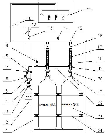 磐龙消防专业生产七氟丙烷