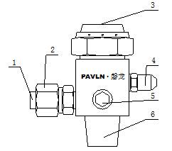 IG541驱动气体瓶组容器阀