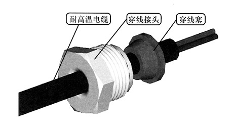 排油注氮火灾探测器的安装图